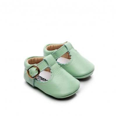 Babies Cuir Mint