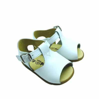 sandales semelles souples ouvertes Boucle CEREMONIE C2BB - chaussons, chaussures, chaussettes pour bébé