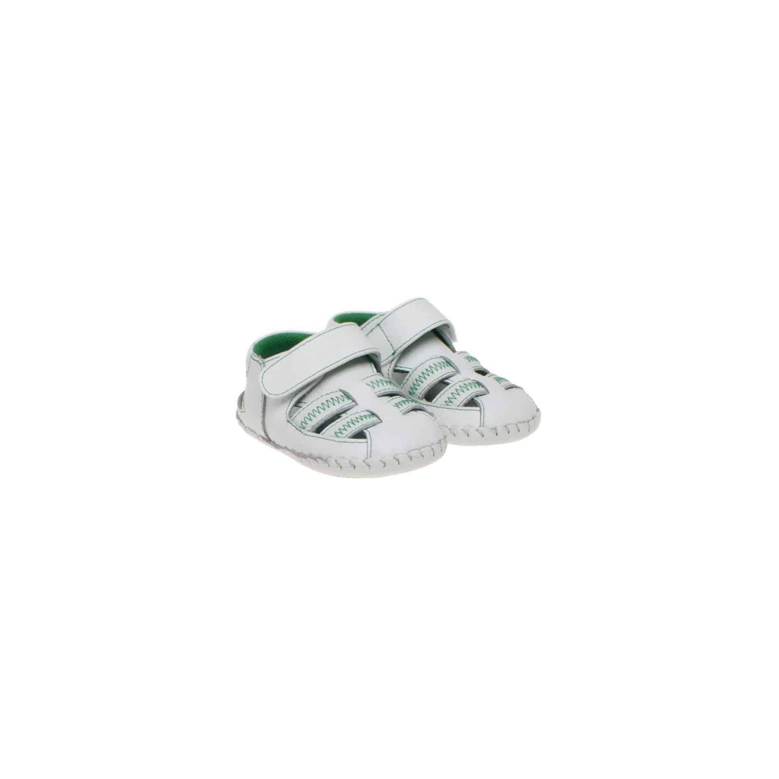 Little Blue Lamb - Zapatos primeros pasos para niño verde nrsbS3