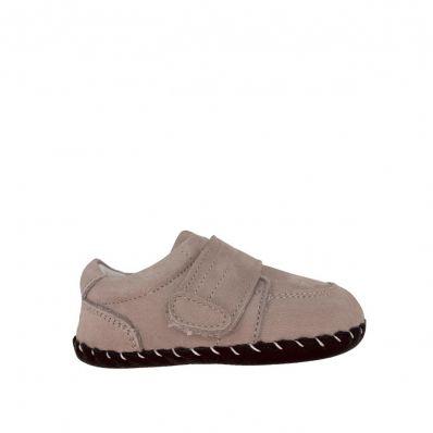 Chaussures premiers pas cuir souple Souris C2BB - chaussons, chaussures, chaussettes pour bébé