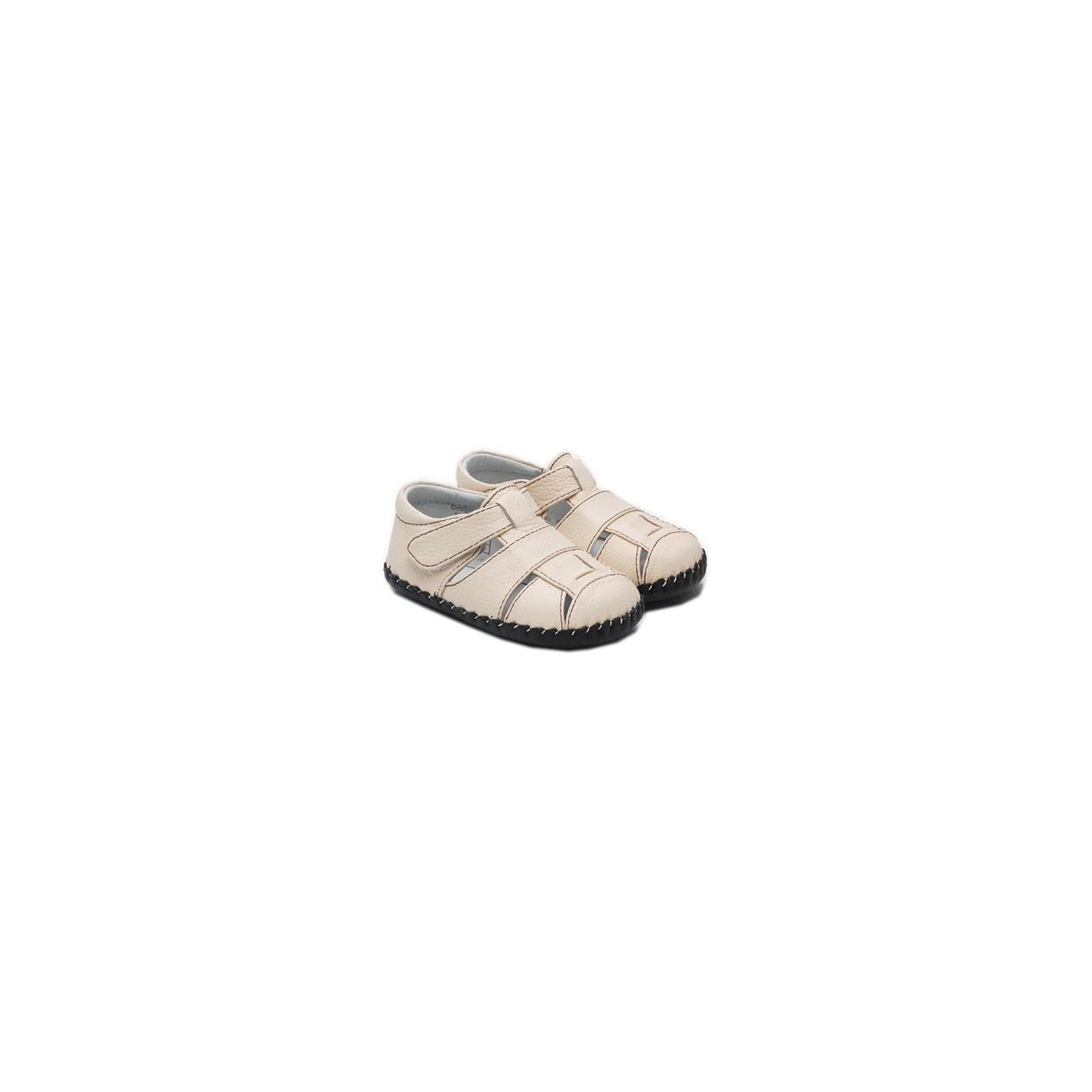 55024f631f565 Little Blue Lamb - Chaussures premiers pas cuir souple