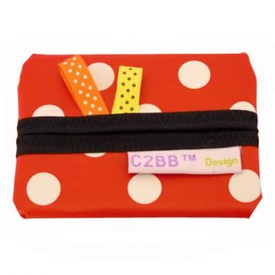 Pocket handkerchiefs MADE IN FRANCE | Red with white dots