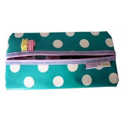 Baby wipes pocket Made in France | Green