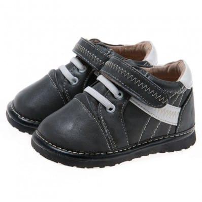 Little Blue Lamb - Chaussures à sifflet | Montantes grises