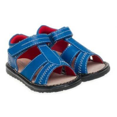 Little Blue Lamb - Chaussures à sifflet | Sandales bleues