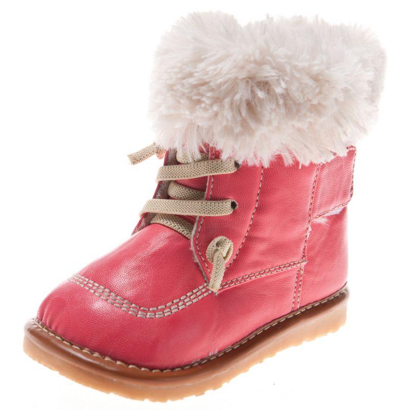 la meilleure attitude ed3d2 4083f Little Blue Lamb - Chaussures à sifflet | Bottines hiver rose