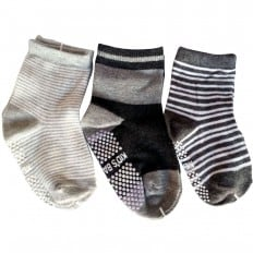 3 pairs of boys anti slip baby socks children from 1 to 3 years old | item 20