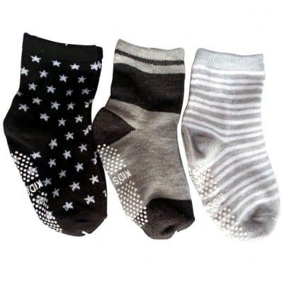 El Lot de 3 calcetines antideslizante para niños | Lot 22