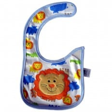 Baby boy Embroidered bibs | Little lion