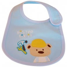 Lätzchen Baby Jüngen gestickte Baumwolle | M. Fix it