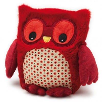 INTELEX - HOOTY plush Microwaveable warmer | Red owl