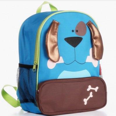 ORANGE IDEA - Boys children backpack schoolbag | Dog