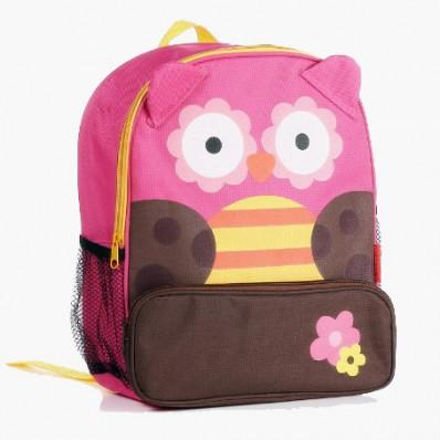 ORANGE IDEA - Girls children backpack schoolbag | Owl
