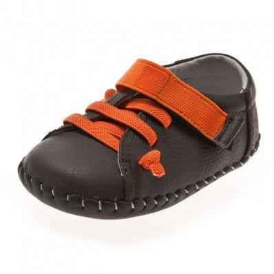 http://cdn3.chausson-de-bebe.com/4032-thickbox_default/little-blue-lamb-baby-boys-first-steps-soft-leather-shoes-brown-sneakers-with-orange-laces.jpg