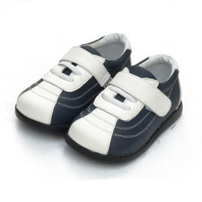 Little Blue Lamb - Chaussures semelle souple | Basket bleu marine