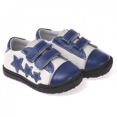 CAROCH - Chaussures semelle souple ultra résistante| Baskets blanches 3 étoiles