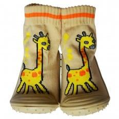 Calcetines con suela antideslizante para niños | Jirafa