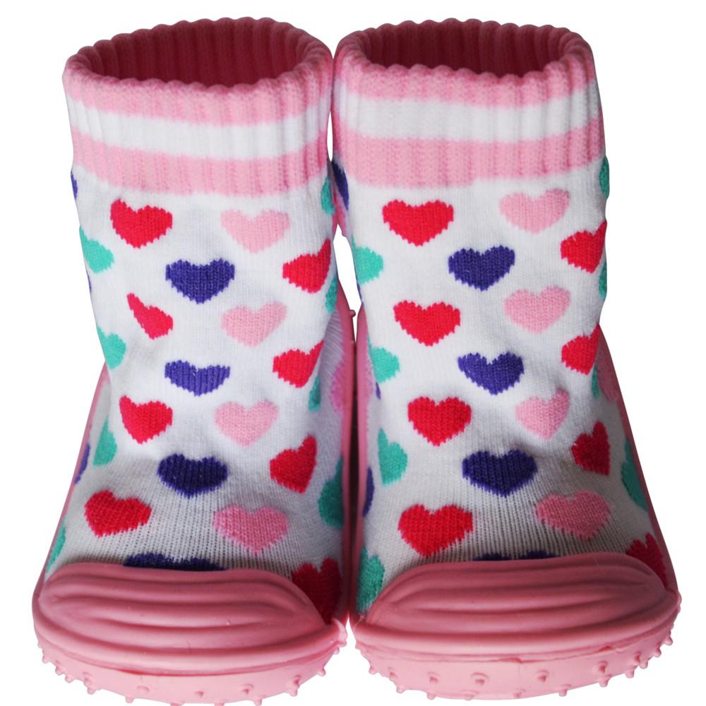 Chaussons-chaussettes Fille943 16.50C2BB - chaussons, chaussures et  accessoires de bébé 0out of stock bc40a217b1d6