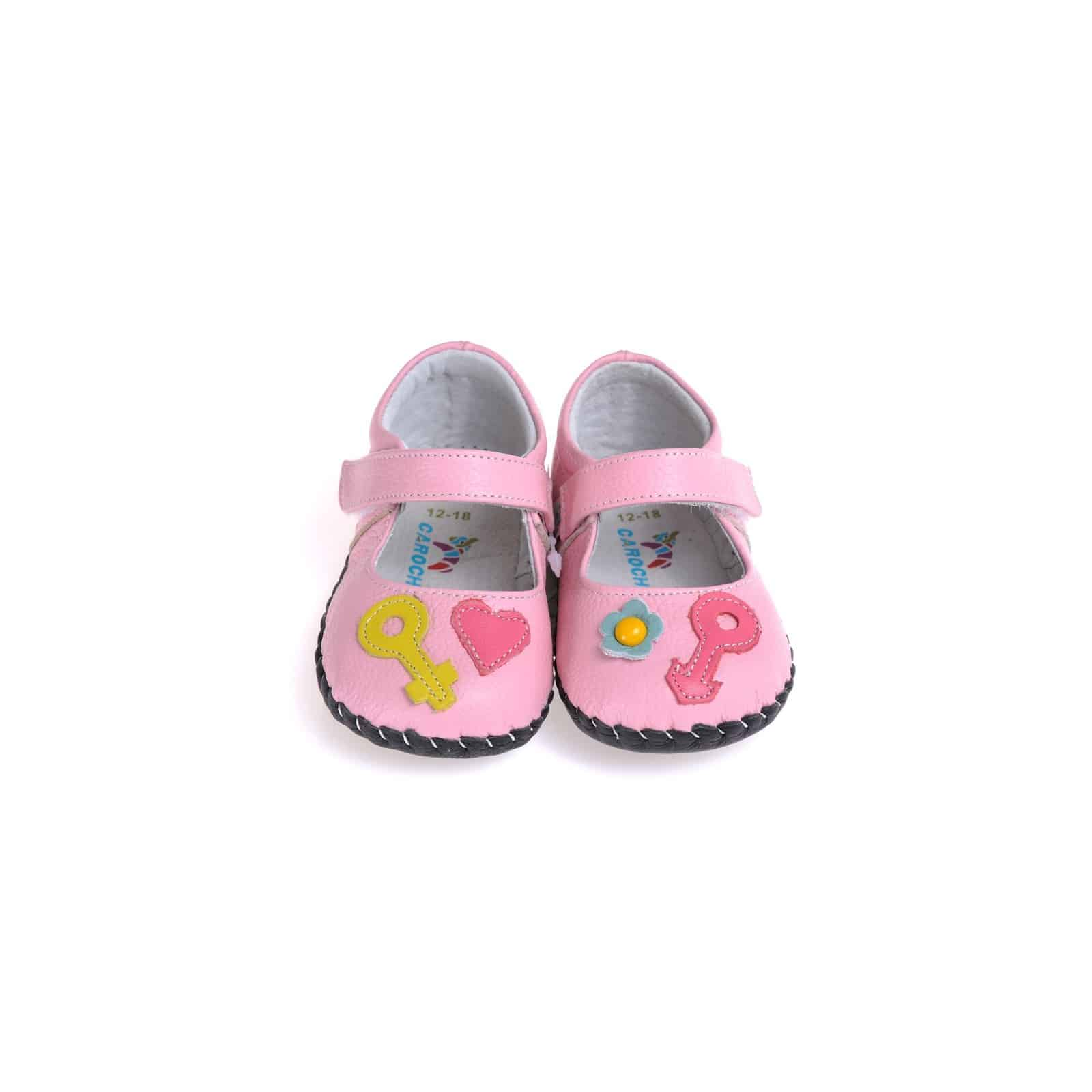 Shoes for Beginning Walkers. Keep your babies confident and happy while they learn to walk with soft baby shoes from Stride Rite. Built for first steps, our safety-focused design for soft sole baby shoes gives everyone peace of mind.