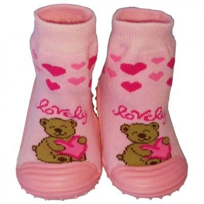 Scarpine calzini antiscivolo bambini - ragazza | Lovely
