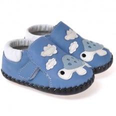 CAROCH - Zapatos de bebe primeros pasos de cuero niños | Tortuga