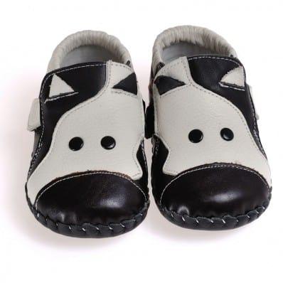 CAROCH - Chaussures 1er pas cuir souple | Vache C2BB - chaussons, chaussures, chaussettes pour bébé
