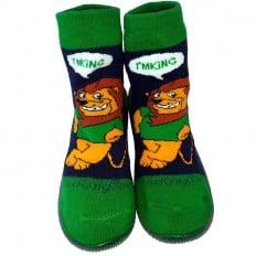 Calcetines con suela antideslizante para niños   León
