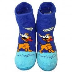 Scarpine calzini antiscivolo bambini - ragazzo | Dog miam blu