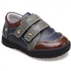 CAROCH - Scarpine suola morbida - ragazzo   Sneakers grigi e marroni