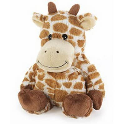 INTELEX - COZY JUNIORS Wärmestofftier für mikrowelle | Giraffe