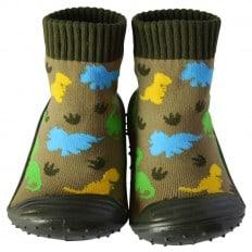 Scarpine calzini antiscivolo bambini - ragazzo | Dinosauri