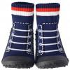 Scarpine calzini antiscivolo bambini - ragazzo | Pallacanestro blu scuro