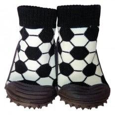 Chaussons-chaussettes nourrisson antidérapants semelle souple | Foot