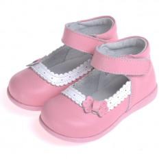 CAROCH - Zapatos de suela de goma blanda niñas | Zapatillas de deporte rosa ceremonia