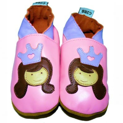 Soft leather baby shoes girls | Princess