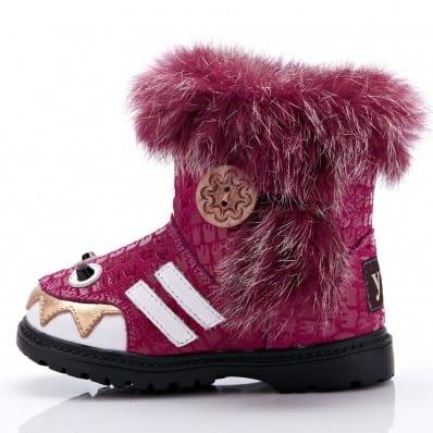 Chaussures semelle souple bottes PETITE MONSTRE