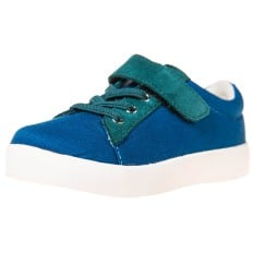 Little Blue Lamb - Chaussures semelle souple | Baskets bleu nubuck