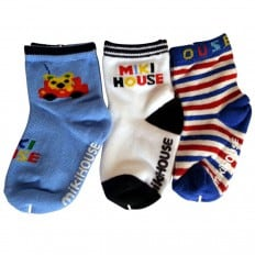 3 pairs of boys anti slip baby socks children from 1 to 3 years old | item 23