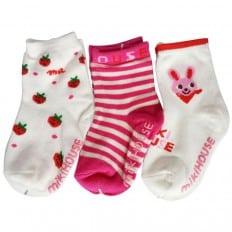 3 paires de chaussettes antidérapantes bébé enfant de 1 à 3 ans | Lot 19