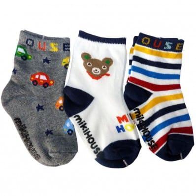 3 Paare antirutsch Babysöckchen Baby Kind im Alter von 1 bis 3 Jahre | Jungen 25