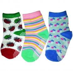 El Lot de 3 calcetines antideslizante para niñas niños | Lot 5