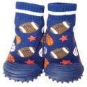 Baby boys Socks shoes with grippy rubber | Sport balls