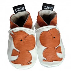 Soft leather baby shoes boys | Small dragon