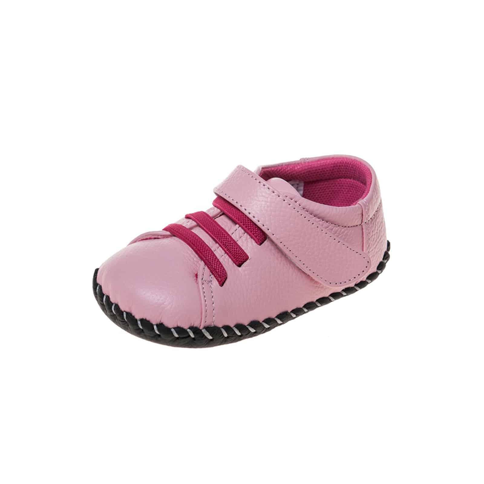 22cc57502d6bc Little Blue Lamb - Chaussures premiers pas cuir souple