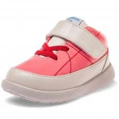 Little Blue Lamb - Soft sole girls toddler kids baby shoes OG | Pink sneakers
