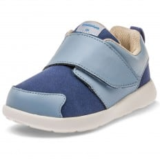Little Blue Lamb - Chaussures semelle souple OG | Baskets bleu