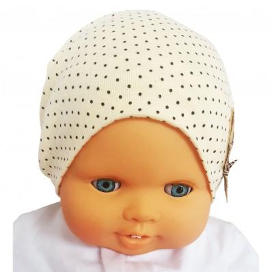 C2BB - Teddybär - Baby-Hut - eine Größe | Beige