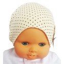 C2BB - Baby hat teddy bear- one size | Beige