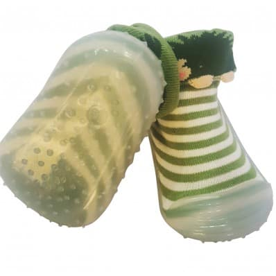 Hausschuhe - Socken Baby Kind geschmeidige Schuhsohle Mädchen   Igel