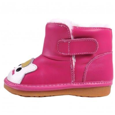 Chaussures semelle souple bottes PETIT CHAT